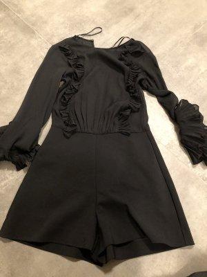 Eleganter Jumpsuit in XS von Zara in schwarz