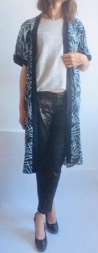 armedangels Kimono nero-bianco