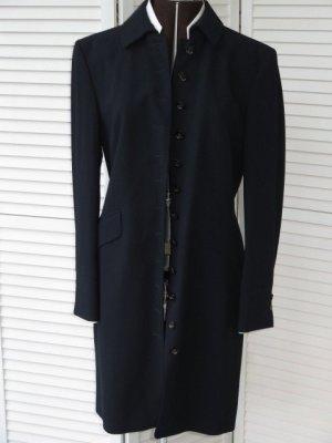 Abrigo corto azul oscuro Lana