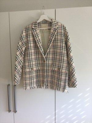 Eleganter Maje Blazer in Tweed Optik