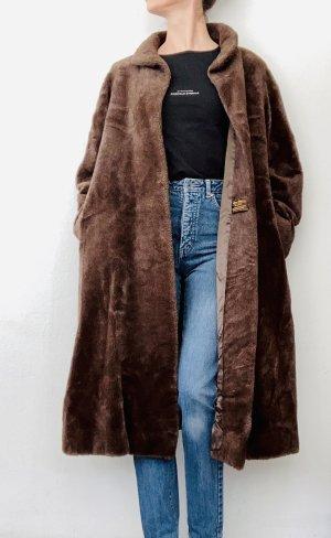Eleganter Mantel aus Lamahaar von Peter Hahn