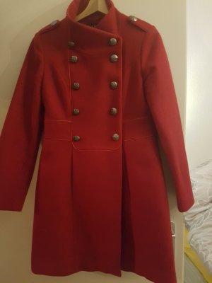 1.2.3 Paris Manteau d'hiver rouge foncé