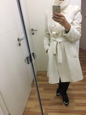 3 Suisses Short Coat natural white