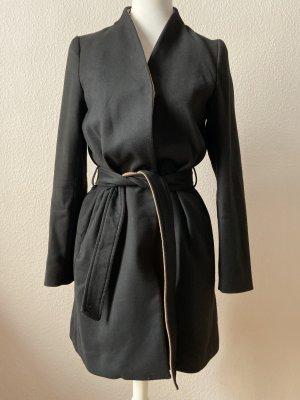 Eleganter Mantel in Schwarz