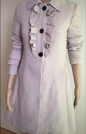 H&M Abrigo corto crema