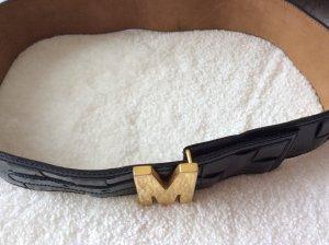 Moschino Cinturón pélvico negro