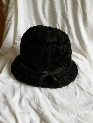 Vintage Fur Hat black