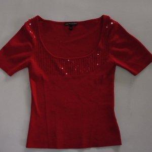 Eleganter Pulli von Bandolera in leuchtendem Rot Gr.M