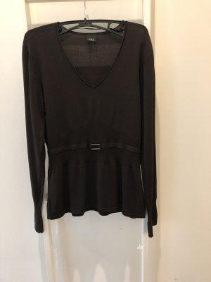 Eleganter Pullover / Strick Top / tailliert