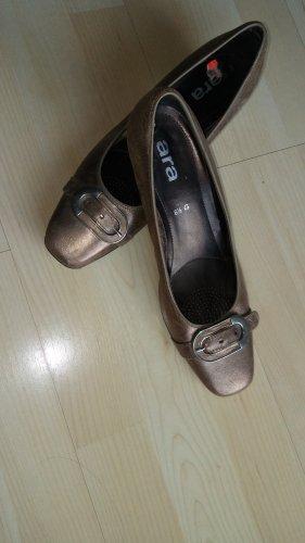 Ara Luftpolster Classic Court Shoe black-bronze-colored