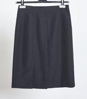 Hirsch Wool Skirt black