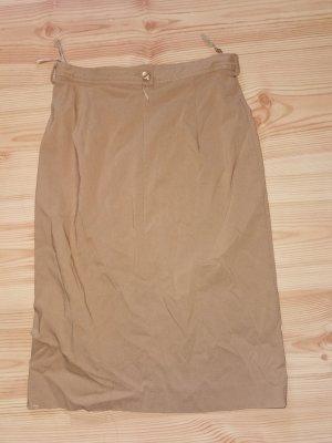 style woman Tweedowa spódnica piaskowy brąz