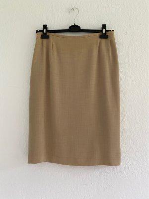 Joseph Janard Wool Skirt beige-oatmeal wool