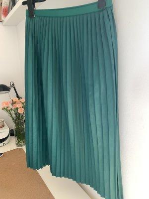 Sisley Jupe plissée vert forêt