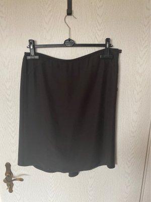 Armani Collezioni Zijden rok donkerbruin