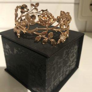 Soha Sztywna bransoletka w kolorze różowego złota