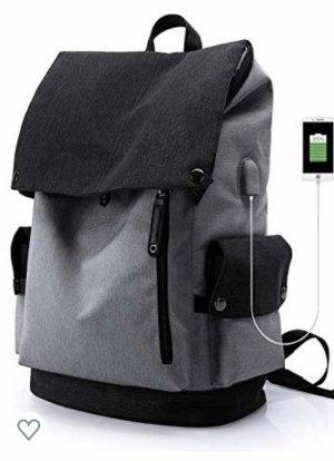 Eleganter Rucksack mit USB Anschluss