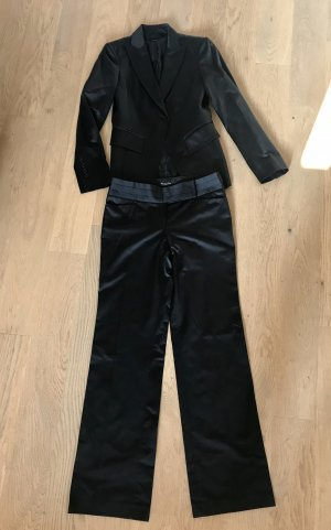 Massimo Dutti Tailleur-pantalon noir