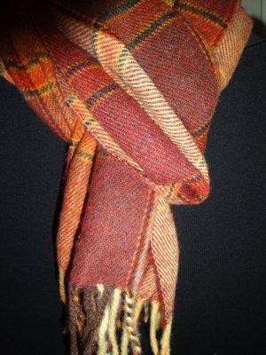 eleganter Schal mit Wolle unisex