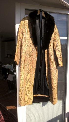 Madame Manteau en cuir multicolore cuir