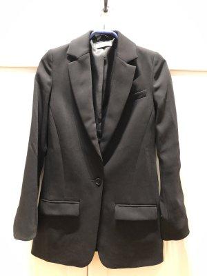 Eleganter schwarze Blazer mir silberne Details