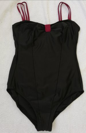 Ulla Popken Costume da bagno nero-viola