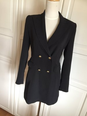Zara Tuxedo Blazer gold-colored-black