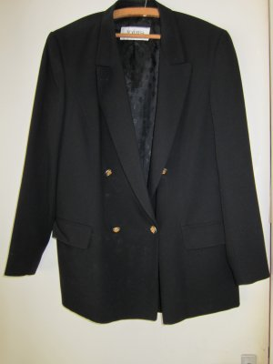 Jobis Blazer in jersey nero Poliestere