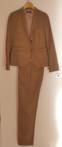 Eleganter Sommer Business Anzug Esprit hellbraun wenig getragen