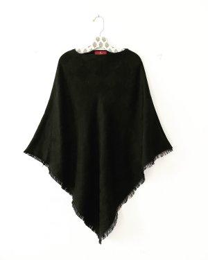 Aigner Sciarpa di lana nero