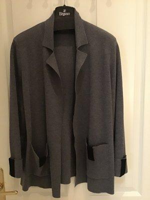 Rodier Knitted Blazer grey-black wool