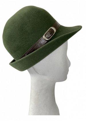 VEB Dresdner Hutmoden Folkloristische hoed veelkleurig