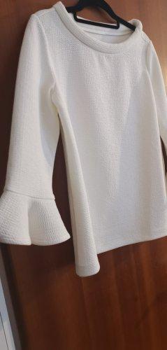 Eleganter weißer Pulli Gr 38 wie neu