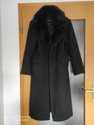 Kingfield Manteau long noir