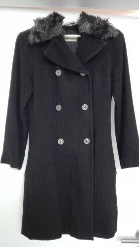 Nicowa Wollen jas zwart