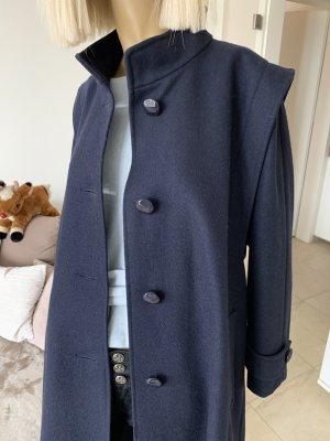 Canda Premium Cappotto in lana blu scuro