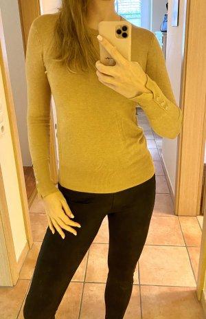 Eleganter Zara Pulli in beige-gold