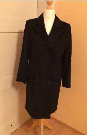 Krótki płaszcz ciemnoniebieski