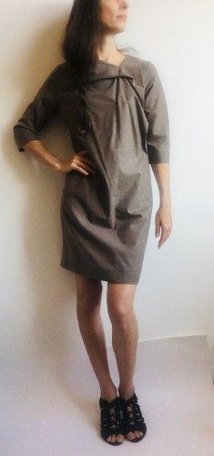 COS Vestito di lana multicolore