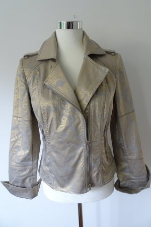Airfield Blouson silver-colored-gold-colored cotton