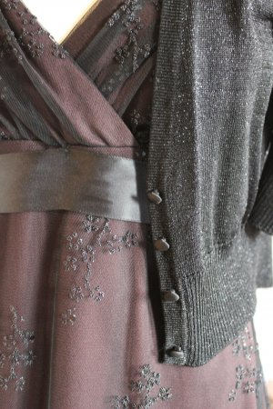Peek & Cloppenburg Bolero black-silver-colored