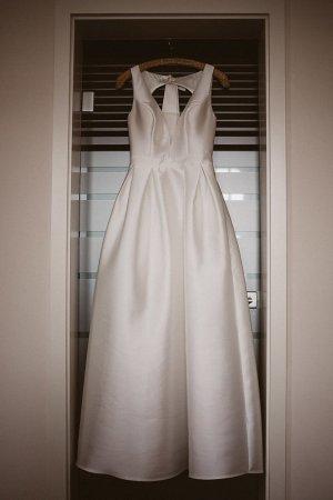 KLEEMEIER Robe de mariée blanc fibre synthétique