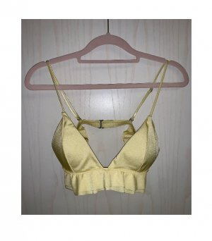 H&M Bustier Top primrose-gold-colored