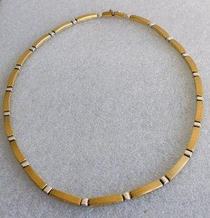 Christ Collar color plata-color oro oro verdadero
