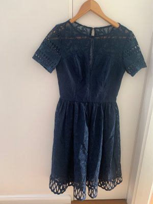 Chi Chi London A Line Dress dark blue