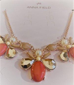 Anna Field Colliers ras du cou multicolore