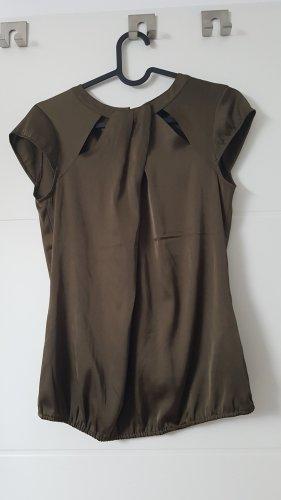 Comma Top koszulowy oliwkowy