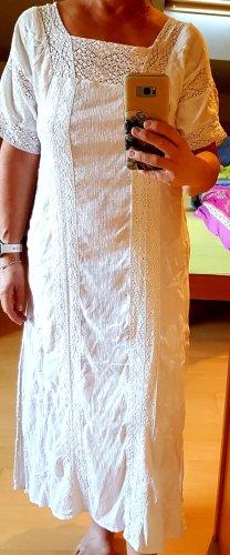 elegantes Crinkle Kleid M