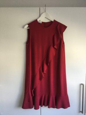 RED Valentino Cocktail Dress dark red acetate