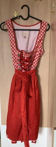 Birkhahn Midi-jurk rood
